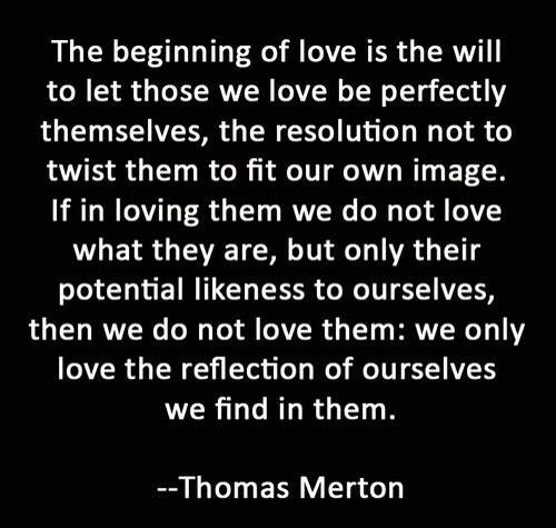 Love - Thomas Merton